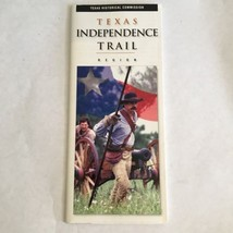 2001 Texas Independence Trail Region By Texas Historical Commission Broc... - $14.01