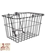WALD 133GB LIFT-OFF FRONT WIRE BLACK BICYCLE BASKET - $33.65