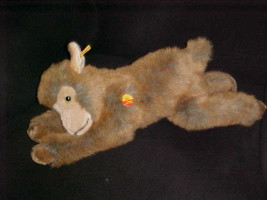 """23"""" Steiff Molly Goat Ziege Lying Plush Toy Chest Tag Number 103186 From... - $148.49"""