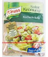 Knorr Salat Kroenung Kitchen Herbs SALAD Dressing- Pack of 5 sachets -German- - $3.42