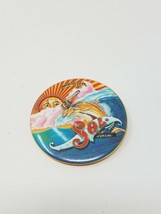 Vtg Sol imported beer tin pinback breweriana advertisement - $9.90