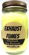 Exhaust Fumes - 16oz Country Jar Soy Candle - Handmade in Rolla MO - Nov... - €13,11 EUR