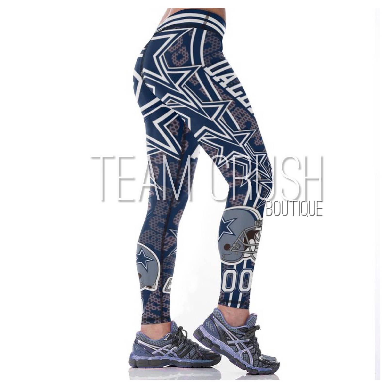 c00b60a1 COWBOYS Leggings - #00 Women Fan Gear - and 44 similar items