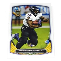NFL BERNARD PIERCE BALTIMORE RAVENS 2014 BOWMAN CHROME FOOTBALL #48 NMNT - $1.07