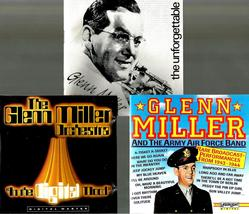 GLENN  MILLER  *IN THE DIGITAL MOOD ~ UNFORGETTABLE ~ ARMY AIRFORCE BAND... - $7.00