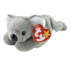 Vtg Ty Beanie Baby Koala Plush Mini 5th Generation 1996 Retired Toy - $9.89