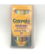 Crayola Blenders & Basics 24 Colored Pencils Set plus Sketch Pad NOS New AR - $24.93