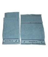 4 Pc Set Nautica Ana Bath Towels Hand Face Cloth Washcloths  NWT FREE SH... - $42.56