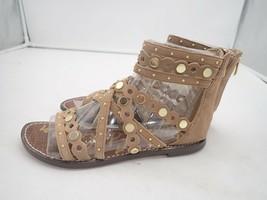 Sam Edelman Womens Geren gladiator sandal size 6.5 golden caramel - $38.00