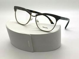 Prada Eyeglasses Vpr 14S TFL-101 Light Brown 55-16-140MM Made In Italy Case - $97.32