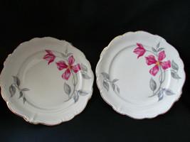"2 Rosenthal Pompadour Beatrice Salad Plates 7 3/4"" - $28.70"