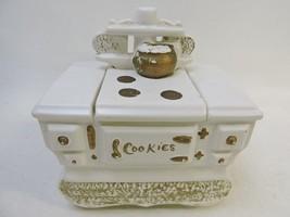 Vintage McCoy White Stove Cookie Jar -1960's - $82.65