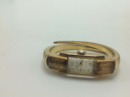 Primary image for Ernest Borel Incabloc Watch 20 Microns Vintage Swiss Women's Ladies Gold Tone