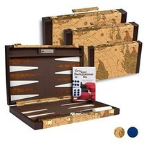 Get The Games Out Top Backgammon Set - Classic Board Game Case - Best St... - $112.43