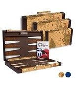 Get The Games Out Top Backgammon Set - Classic Board Game Case - Best St... - $120.98