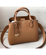 Tory Burch Robinson Triple-Compartment Leather Tote - $370.00