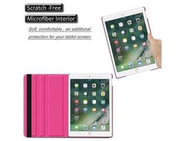 """360 Degree Smart Rotary Faux Leather Case for iPad Air 3 / iPad Pro 10.5"""" Pink image 2"""