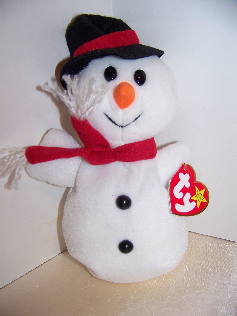 72f37ab6b85 Ty Snowball Snowman Beanie Baby and 50 similar items. 100 5914
