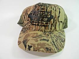 White's Gun Shop  Camo Cap Hat Mesh Strapback Waterford Michigan  - $14.80