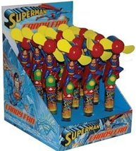 Superman Candy Fan in disp .28 oz : 12 Count - $69.99