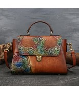 Johnature 2020 Summer New Bag Women First Layer Cow Leather Luxury Handb... - $124.91