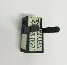 Vintage Pressman Domino Rally Replacement Skeleton Glow Dark Figure Piece Part - $9.50