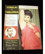 Estrellas De Cinelandia June 1958 Brigitte Bardot Marlon Brando Debbie R... - $24.99