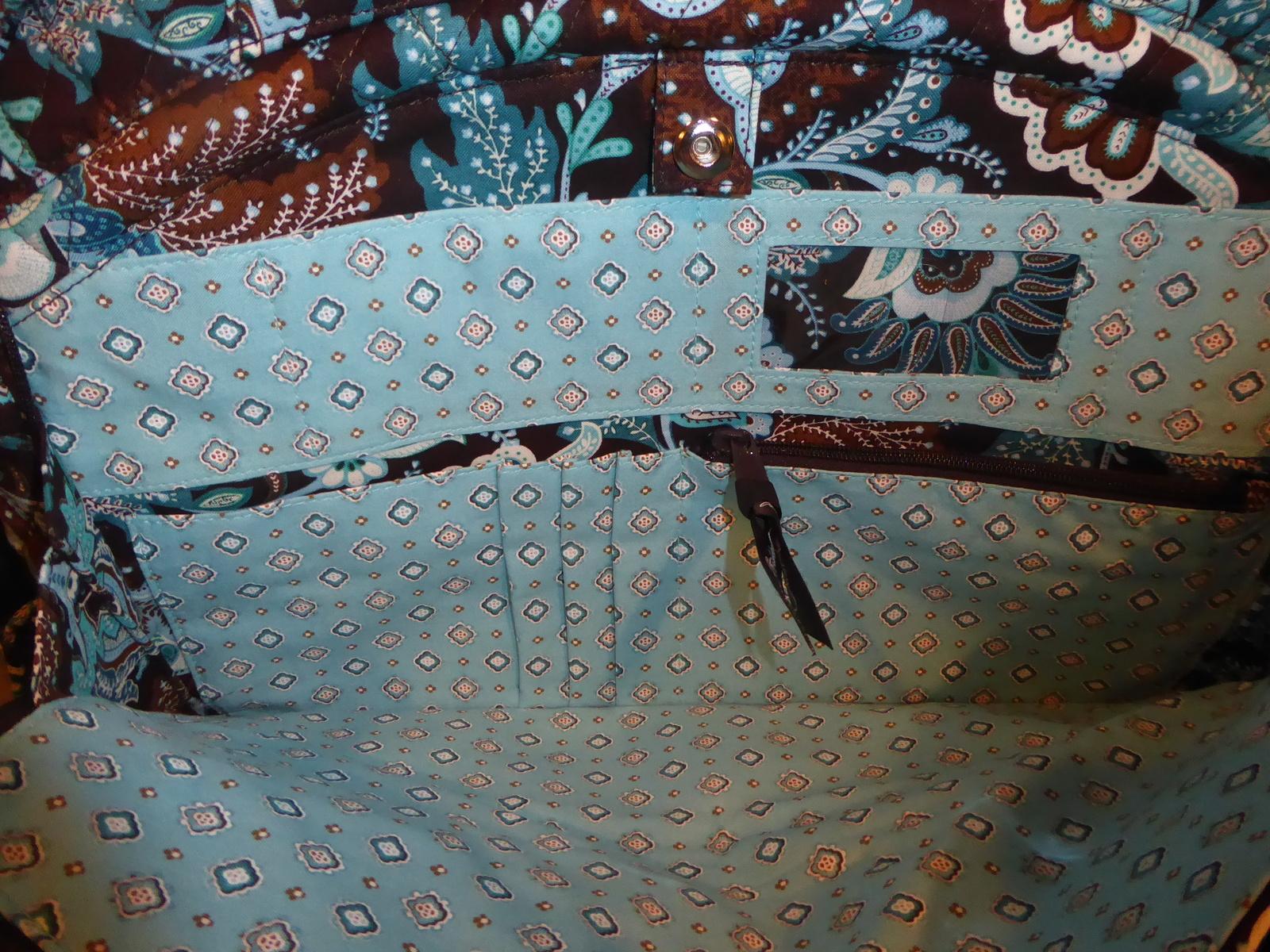 NWT Vera Bradley Java Blue Metropolitan bag and 50 similar items e0ff164939fe8