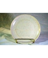 """Kenro Holiday White Red Speckle Vintage Melmac Coupe Bread Plate 5 3/4"""" - $2.51"""