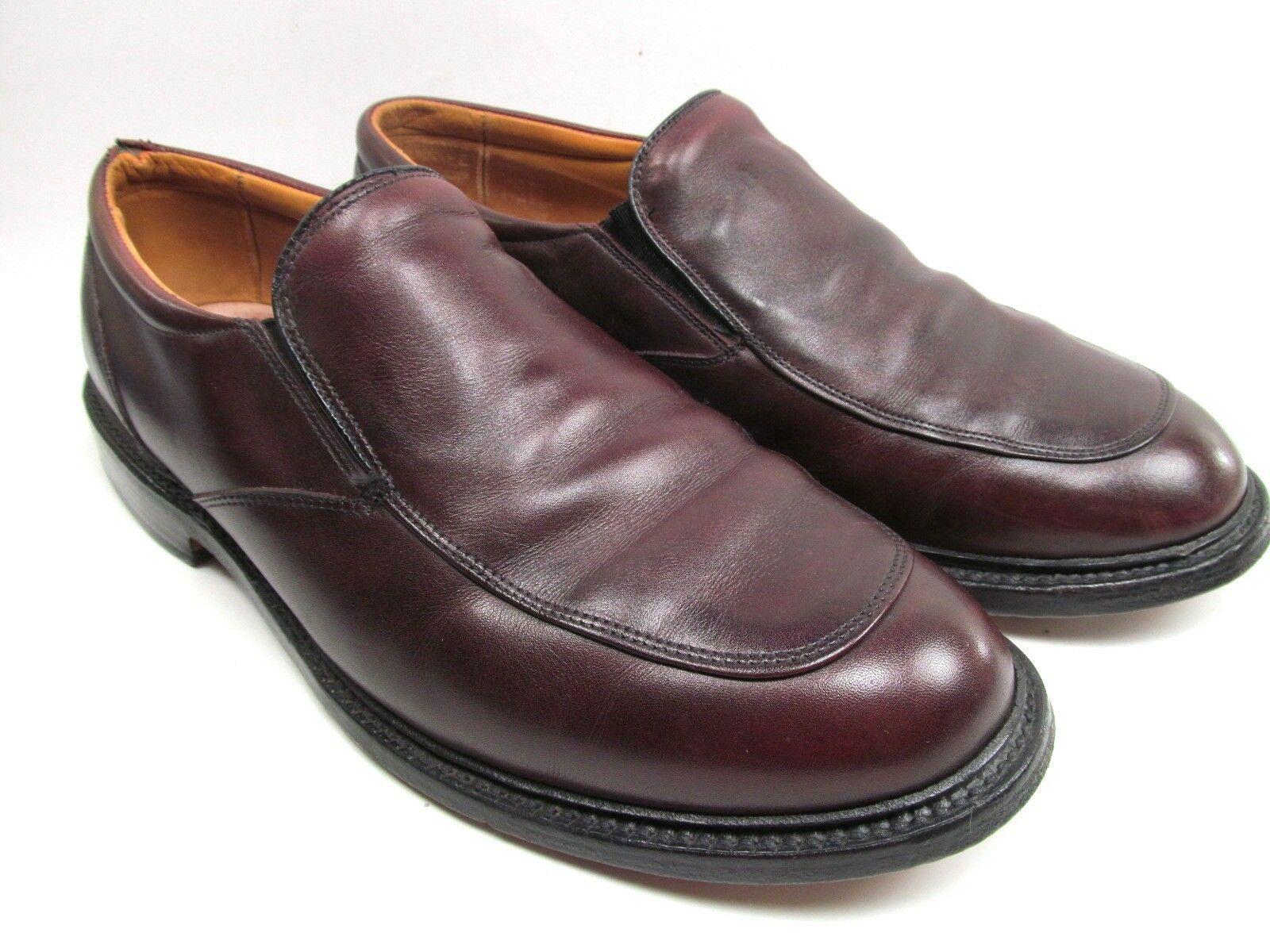 a2e712e6632 Allen Edmonds Mens Delcliffe Loafers Size 10 E Brown Leather Slip On Shoes  -  44.55