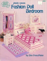 Fashion Doll Bedroom for Barbie Plastic Canvas PATTERN/INSTRUCTION Booklet - $6.27