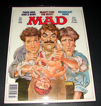 MAD Magazine 280 July 1988 THREE MEN AND A BABY Mort Drucker Cover Art E... - $15.19