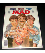 MAD Magazine 280 July 1988 THREE MEN AND A BABY Mort Drucker Cover Art E... - $14.99