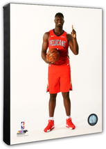 Zion Williamson Pelicans 2019 NBA Draft #1 Pick-16x20 Photo on Stretched... - $94.95