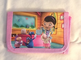 Disney Doc McStuffins Children's Wallet— New More Fun characters Available Too!
