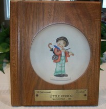 M. I. Hummel Goebel Miniature Collectors Plate 1984 Little Fiddler Frame... - $17.00