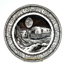 222 Fifth Slice of Life LUNAR BARBECUE Airstream Dinner Plate Antar Daya... - $29.88