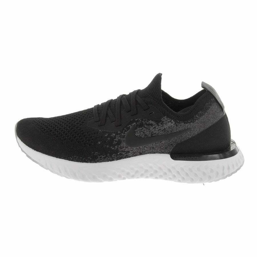 Nike Epic React Flyknit (GS) Black Dark Grey 943311 001 Youth Running Shoe Sizes image 2