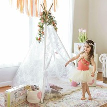 Indian Playhouse Toy Teepee Play Tent for Kid Holiday creative gift for ... - $28.70+