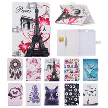 "Painting PU Leather Wallet Stand Case Cover for Samsung Tab A 9.7"" T550 ... - $9.30"