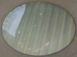 Vintage Oval Shaped Mirror - GDC - GREAT OLD MIRROR FOR CRAFTS - OLDER M... - $29.69