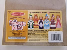 Melissa and Doug Brand New Magnetic Dress up...Princess Elise!!! image 4