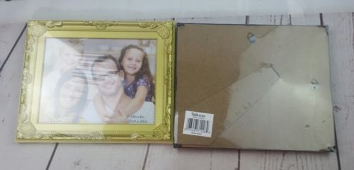New Picture Frame Set of 2 Black and Gold 10in by 8in (25cm × 20cm) image 5