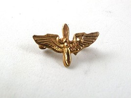 WWII Goldtone Army Air Corps Sweetheart Pin 61317 - $14.84