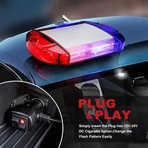 126 LED Strobe-Warning-Lights-Bar 12V Rotation Flashing Beacon Emergency Light M image 6