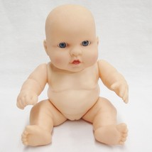 Vintage Hard Plastic Girl Baby Doll Jointed Blue Eyes Body 945 Head TR-1... - $13.93