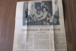 Growing Up With Roy & Dale by Roy Rogers, Jr., - Also 1959 Newspaper Article image 8