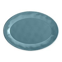 Rachael Ray Cucina Stoneware Oval Platter in Blue - $29.99