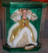 1994 Happy Holidays Special Edition Barbie Doll New In The Box - $49.99