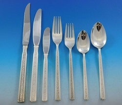 Trilogy by Gorham Sterling Silver Flatware Service for 12 Set 99 pieces - $6,995.00